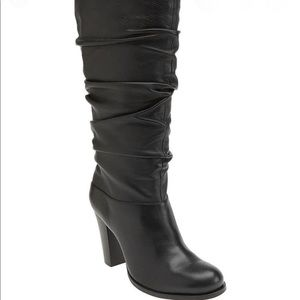 Nordstrom black leather boots